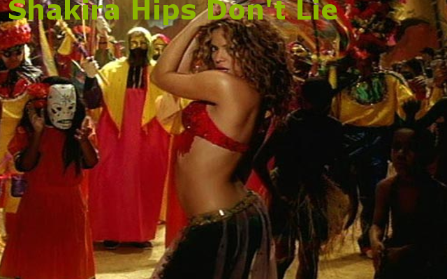 How to shake your hips so they do not lie like Shakira