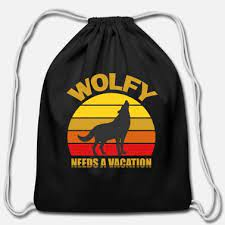 The Wolfy Travel Bag