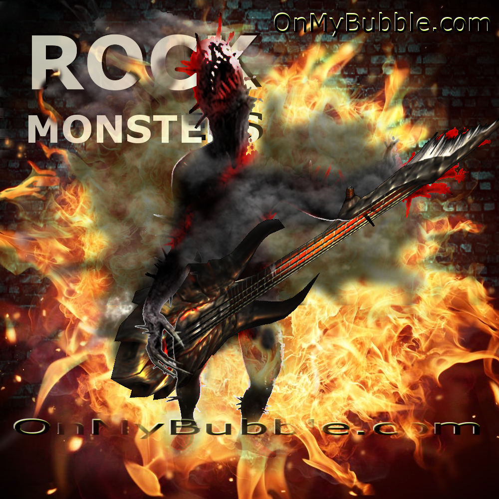 Rock Monsters Iron Maiden Magic
