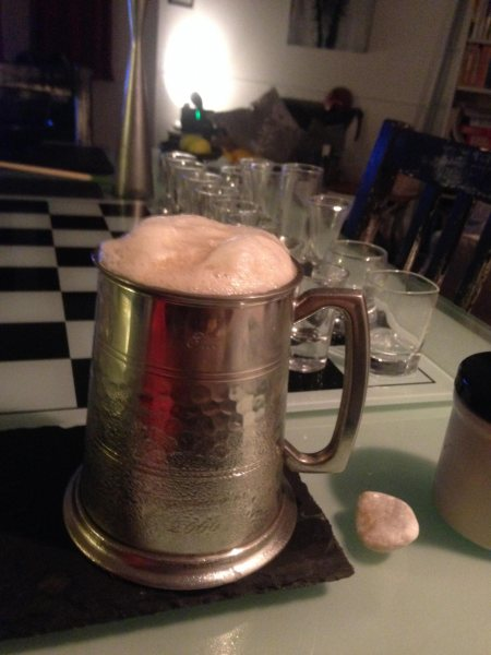 Silver Jug Of Ale