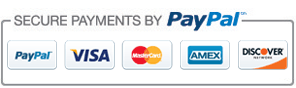 We do not collect payment details from you as all transactions use Secure Checkout PayPal payment processor